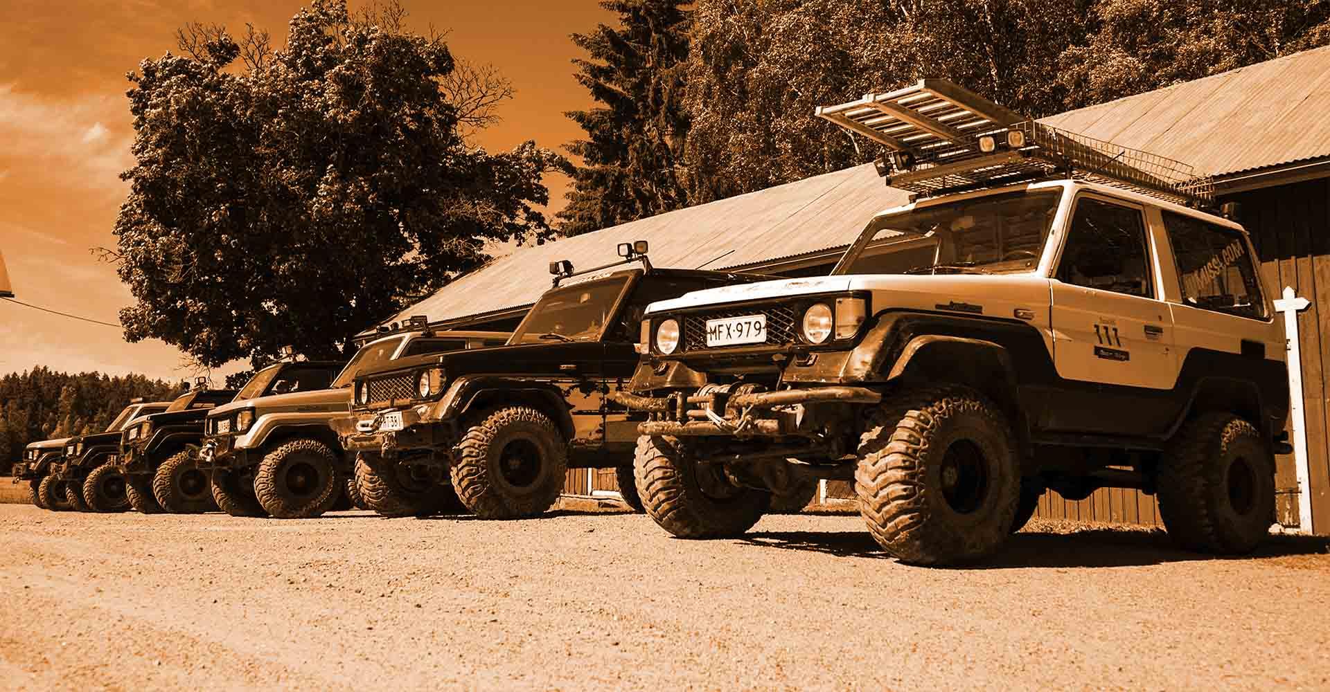 Off-road safaris